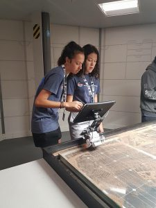 Girls in STEM at Space Camp USA with Haka Educational Tours