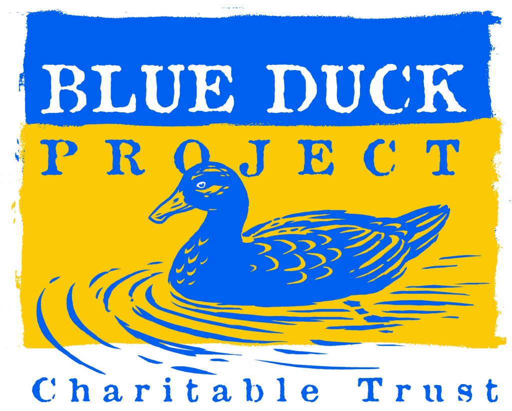 Logo for Blue Duck Project